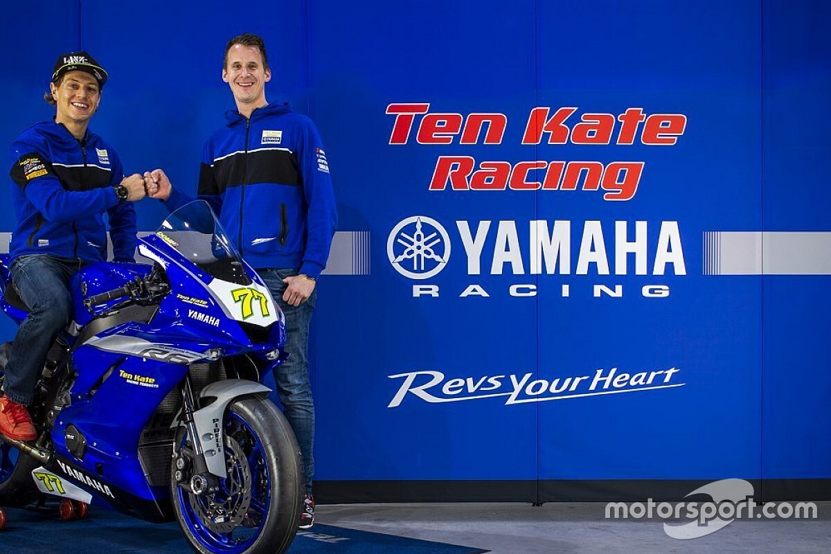 Ten Kate Yamaha keert met Aegerter terug in WK Supersport
