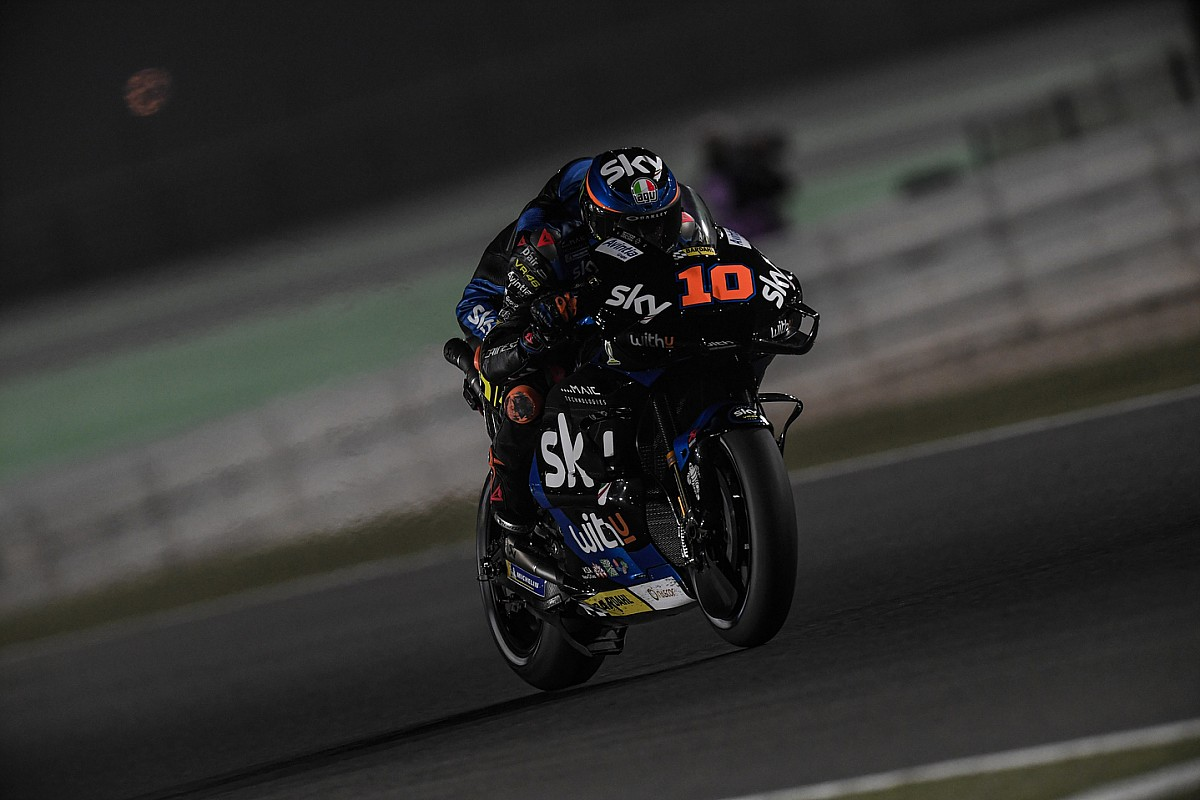 Motogp Rookie Marini Nearly Forgot Brother Rossi Was On Qatar Grid