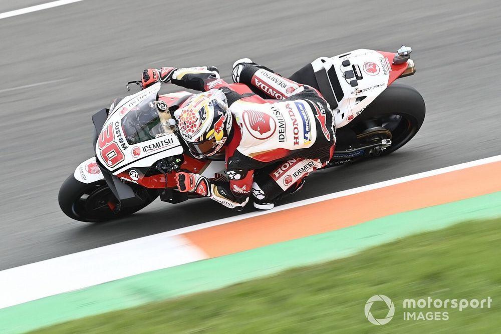 Valencia MotoGP: Nakagami sets FP1 pace ahead of Yamahas