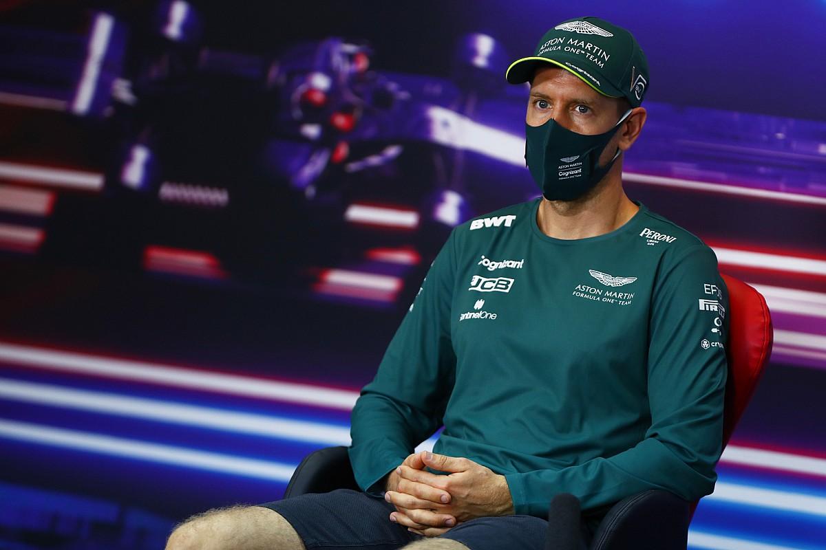 Vettel names Aston Martin F1 car after Bond girl