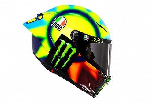 Rossi lucirá un diseño de casco nuevo para el MotoGP 2021