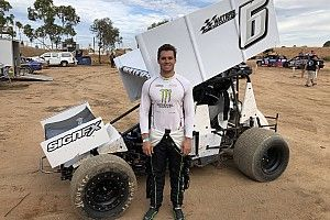 Waters to make sprintcar race debut