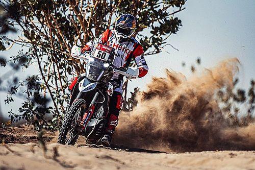 Spierings reanimeert collega Santosh in vierde etappe Dakar