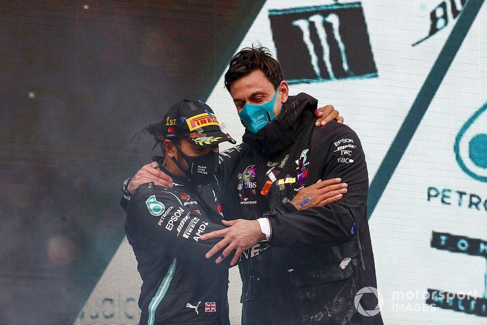 Wolff: Hamilton behoort definitief tot beste F1-coureurs ooit