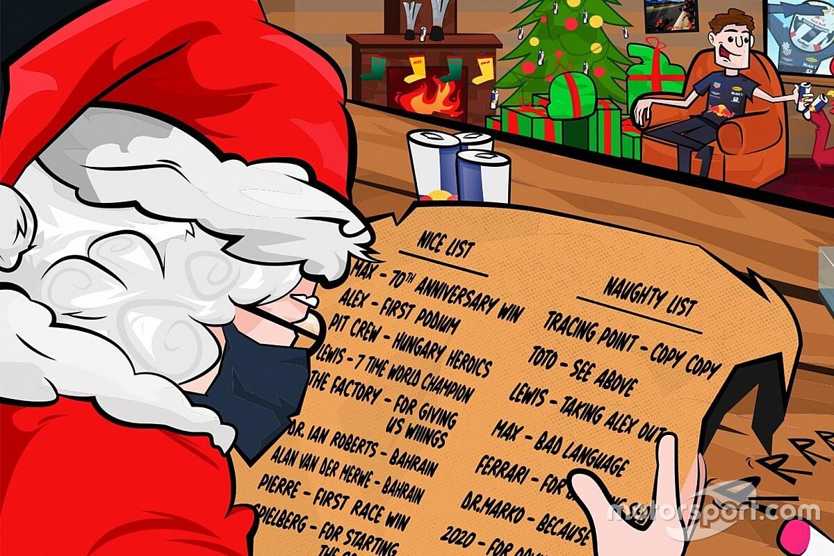 Kegyetlen karácsonyi üdvözléssel szállt bele a Red Bull a riválisaikba