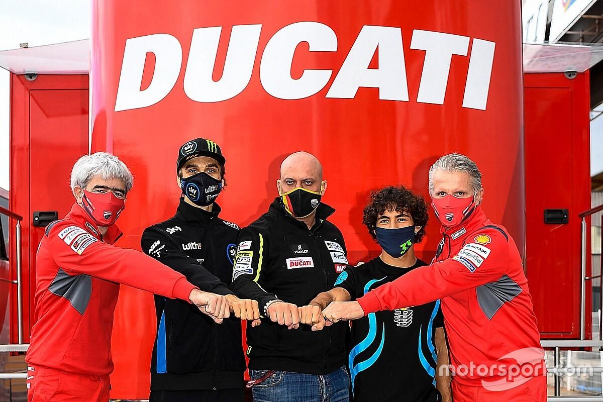 Debutanten Marini en Bastianini rijden met 2019-versie van Ducati