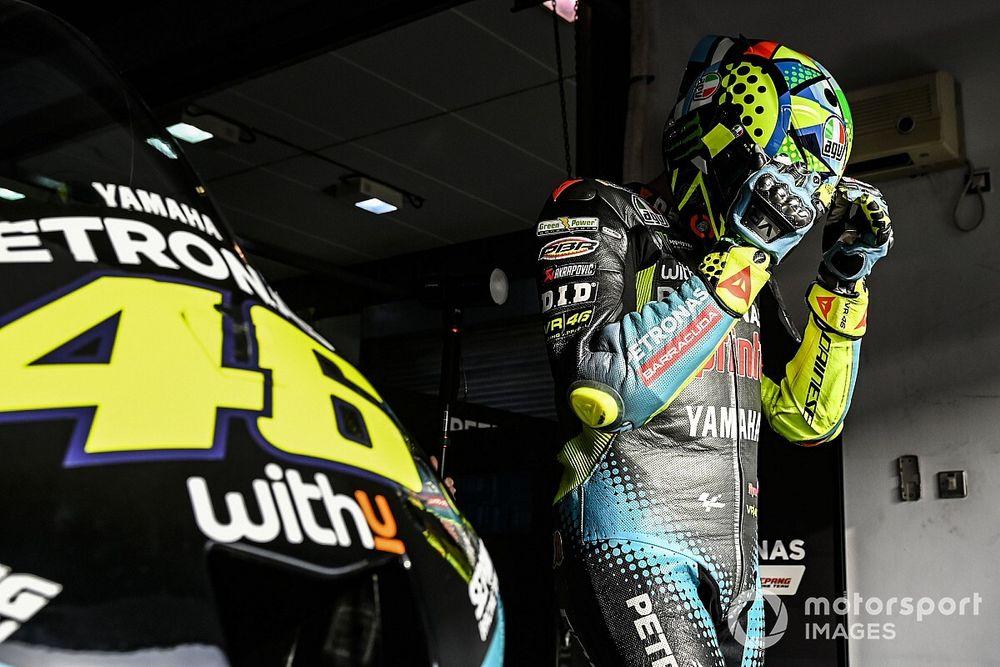 """MotoGP: Rossi se vê no grupo dos pilotos """"fortes"""" para 2021"""