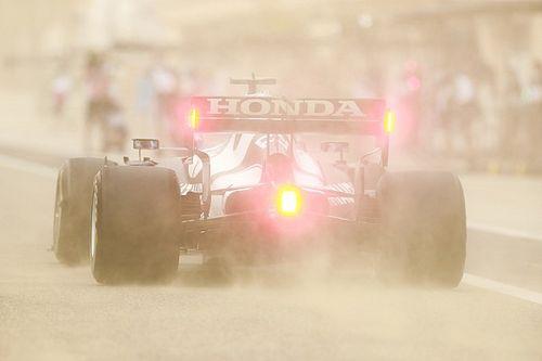速報:F1プレシーズンテスト初日午後|砂塵の中、レッドブル・ホンダのフェルスタッペン最速。角田裕毅9番手