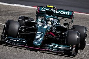 Sebastian Vettel doit encore s'habituer à son Aston Martin