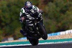 Kawasaki sorride: Lowes è finalmente tornato in moto