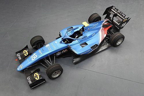MP Motorsport toont livery F3-bolide 2021