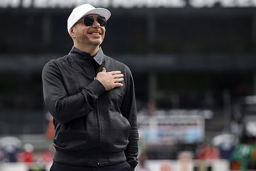 "Inspired by Pitbull, the ""revolution"" sweeping through NASCAR"