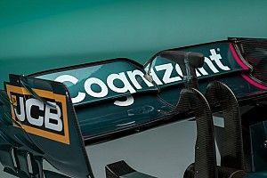 El Aston Martin AMR21 para la F1 2021 desde todos los ángulos