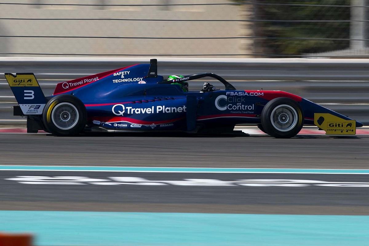Chovet na czele F3 Asia