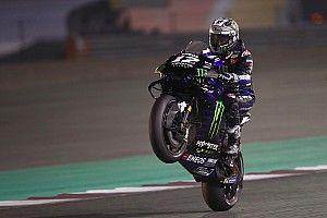 Vinales nem hagyta ki a pezsgőzést sem a Virtual MotoGP győzelme után