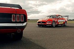 Mostert/Moffat Mustang to run iconic Trans-Am look at Sandown