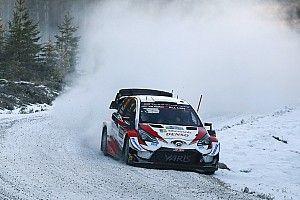Evans reste leader du Rallye de Suède