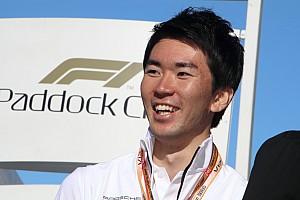 笹原右京、F1挑戦への決意を新たに「F1に乗る準備はいつでも出来ている」