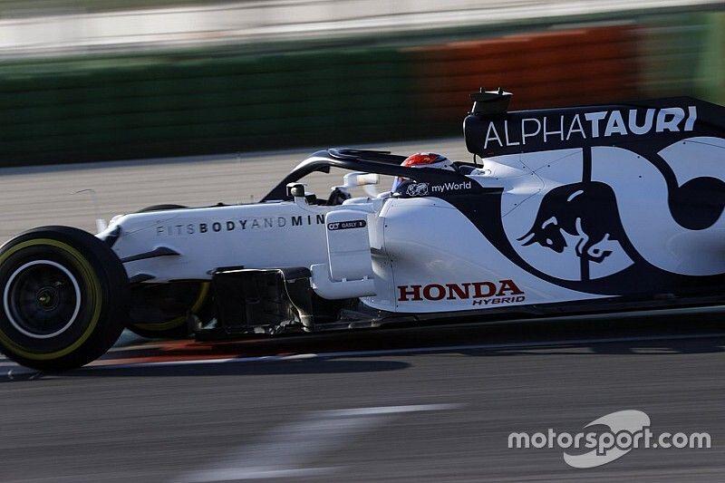 AlphaTauri sześć miesięcy za Red Bullem