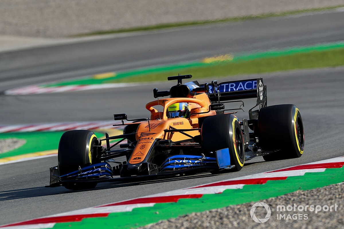 "Norris: F1 shutdown has created ""level playing field"""