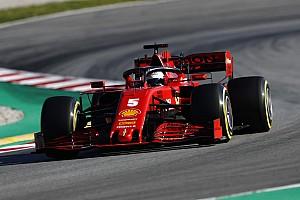 Testupdate 11u: Vettel valt stil, Verstappen heeft problemen