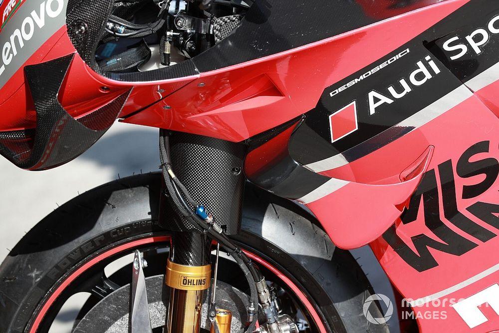 Las novedades técnicas de Ducati en el test de Misano