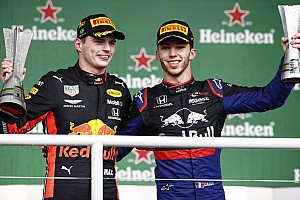 "Verstappen: ""Gasly'nin podyumu inanılmaz"""
