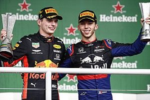 "Gasly's podium finish ""Incredible"", says Verstappen"