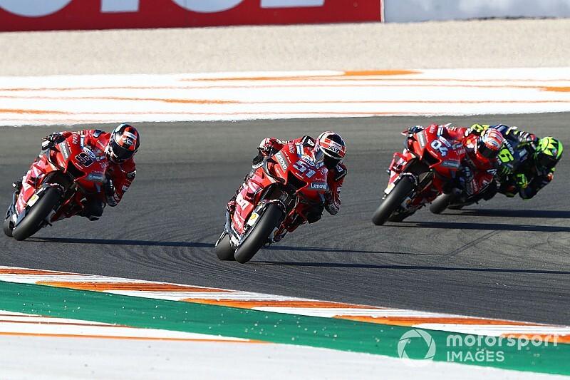 La parrilla del GP de Valencia 2019 de MotoGP, en imágenes
