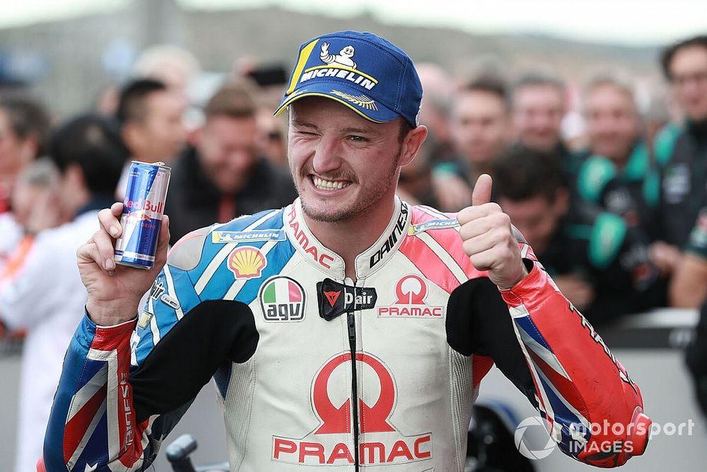Jack Miller confirmé dans l'équipe officielle Ducati pour 2021