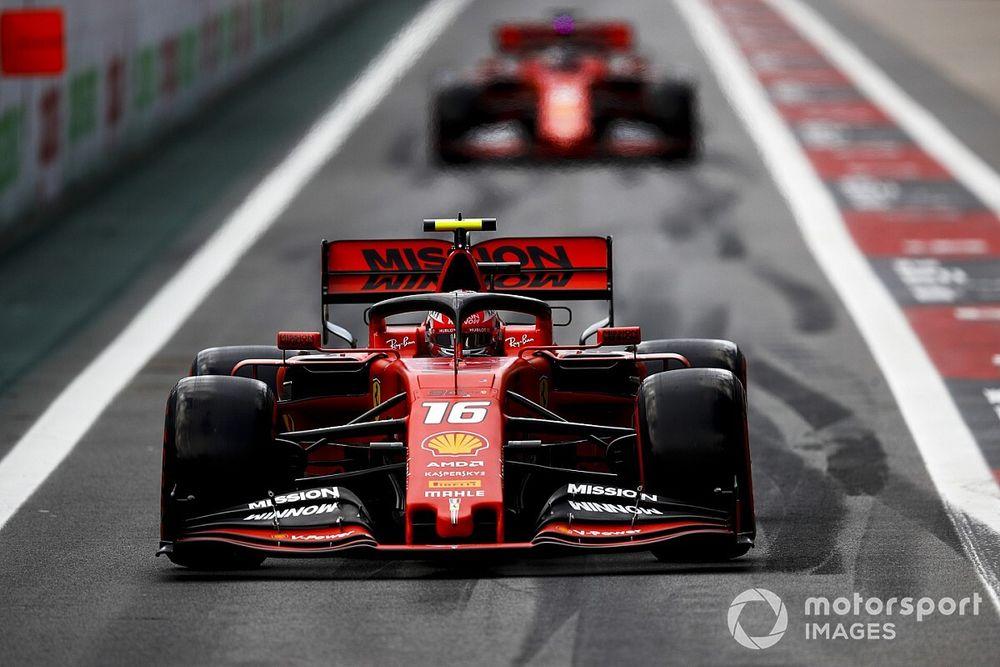 """Ferrari: Vettel y Leclerc saben que lo de Brasil fue """"inaceptable"""""""