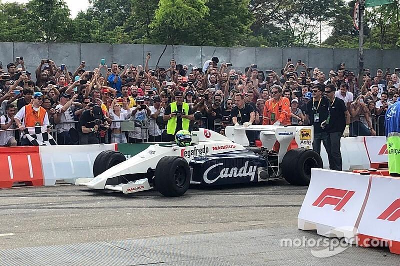 Teljesült Massa nagy álma: Senna autóját vezethette (videó)