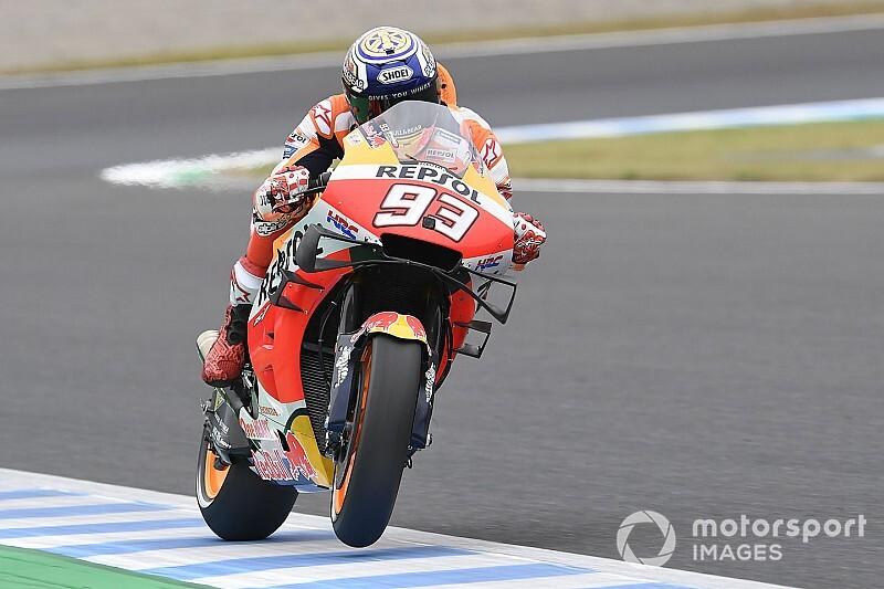 Marquez overtuigend op pole voor Grand Prix van Japan