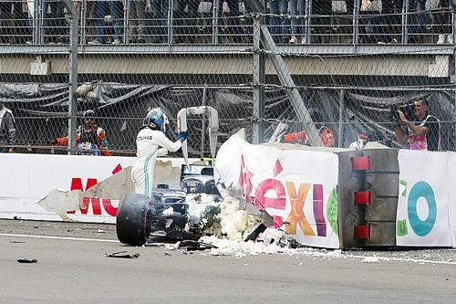 FIA изменит конфигурацию барьеров после аварии Боттаса