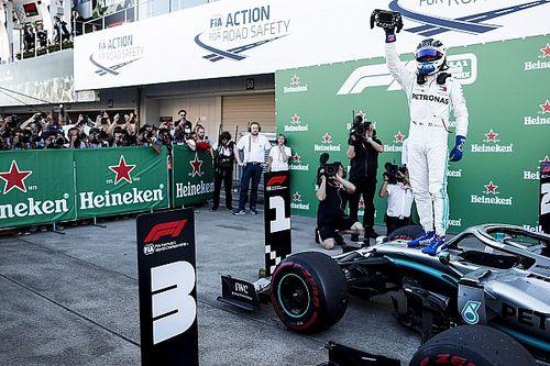 Боттас выиграл в Японии, Mercedes завоевала Кубок конструкторов