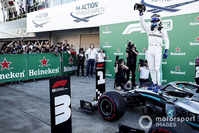 Bottas gana en Japón seguido por Vettel y Hamilton