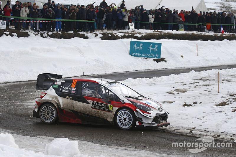 WRC: Toyota schiera 4 Yaris al Rally di Estonia: ci sarà Katsuta