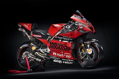 GALERÍA: la nueva Ducati Desmosedici GP20