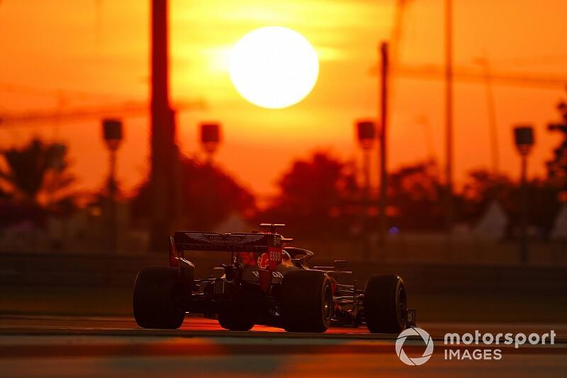 Verstappen az élre repítette a Red Bullt Abu Dhabiban az időmérő előtt