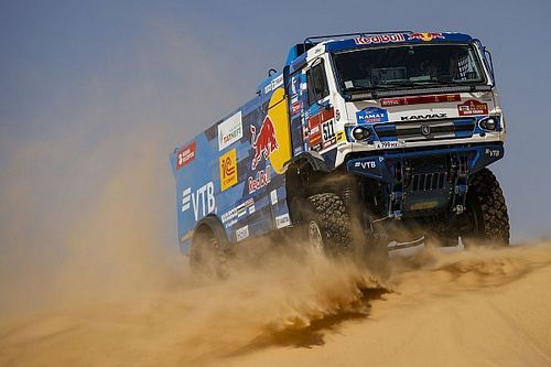 Dakar, Camion: Karginov sultano Kamaz, Iveco disastro