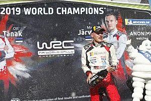 Tanak logra el título del WRC 2019