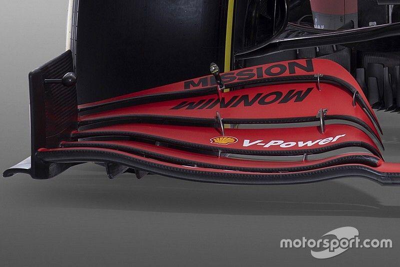 Ferrari решила не копировать антикрыло Mercedes