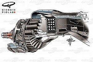 Ferrari: ecco il capolavoro della brake duct posteriore!