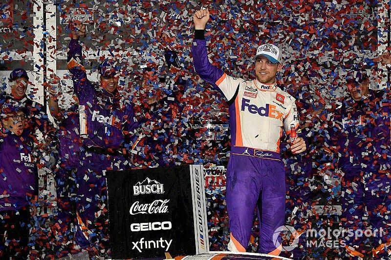 Hamlin gana Daytona 500 y Newman es hospitalizado