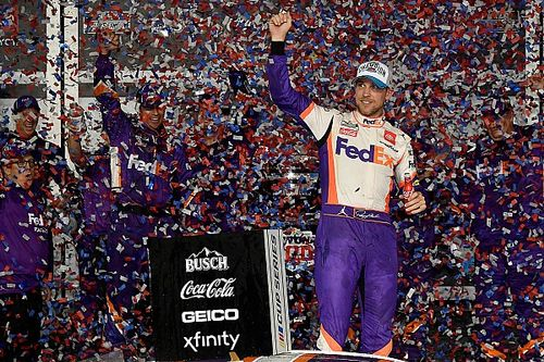 Hamlin wins Daytona 500; Newman hospitalized after crash