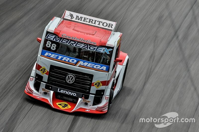 Copa Truck: Beto Monteiro fica com a pole para a grande final em Interlagos
