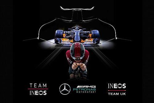 Mercedes F1 partnerem drużyny zwycięzcy Tour de France