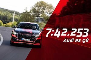 Audi RS Q8, ora è il SUV più veloce al Nurburgring