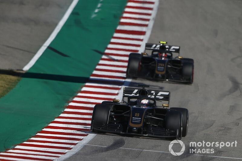 Haas'ın yeni ön kanadını Grosjean kullanacak