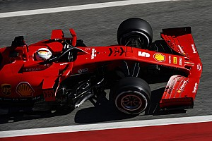 Erste Fotos von Sebastian Vettel im Ferrari SF1000